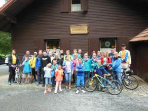 Familienradtour Tannenlohe 2014